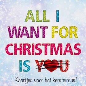 All I want for Christmas is You... doorgestreept, Kaartjes voor het Kerstcircus