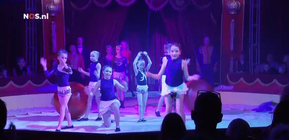 optreden in echt circus