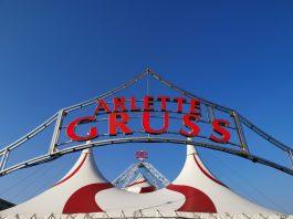 Tent Arlette Gruss door Circusweb