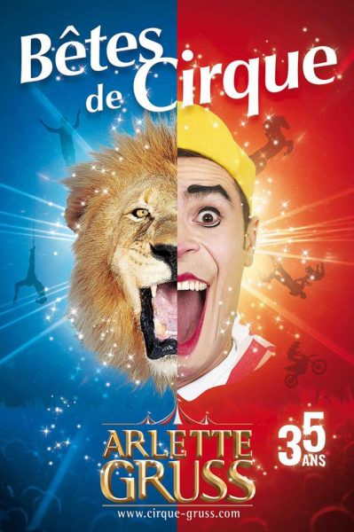 Poster Arlette Gruss op Circusweb