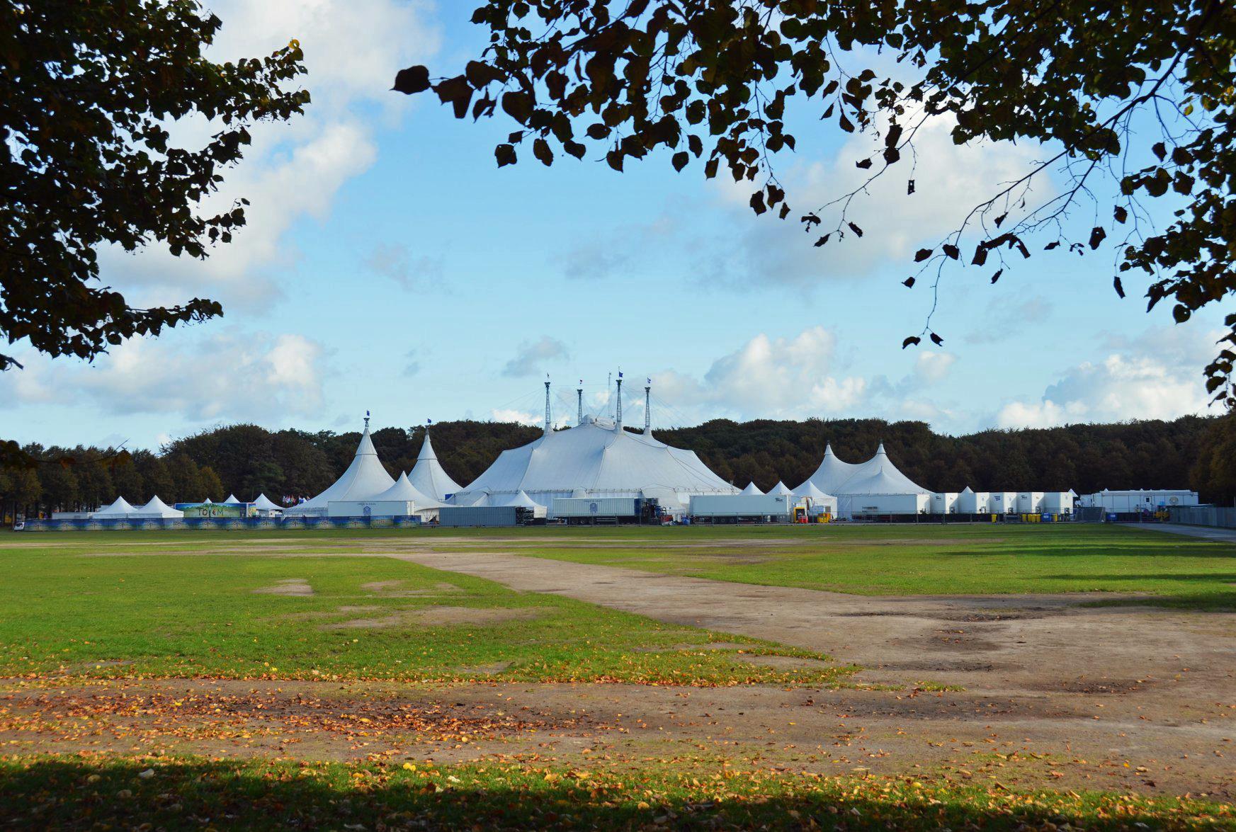 Cirque du Soleil Malieveld op Circusweb