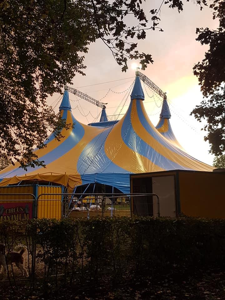 Nieuwe tent Circus Maximum nu op Circusweb