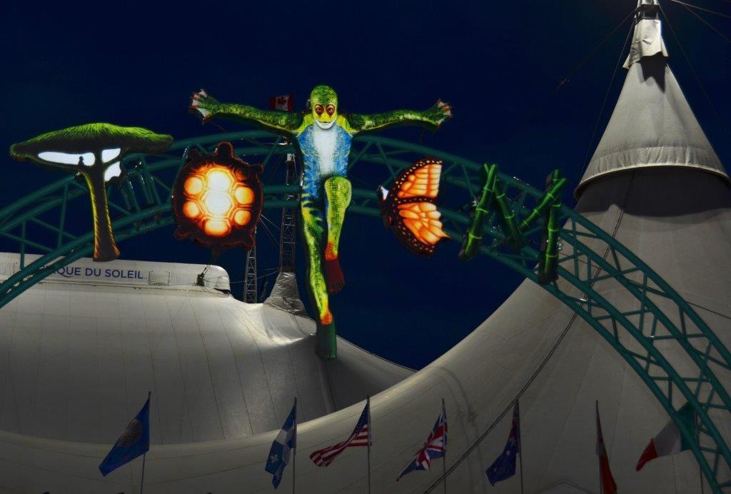 Totem op Circusweb