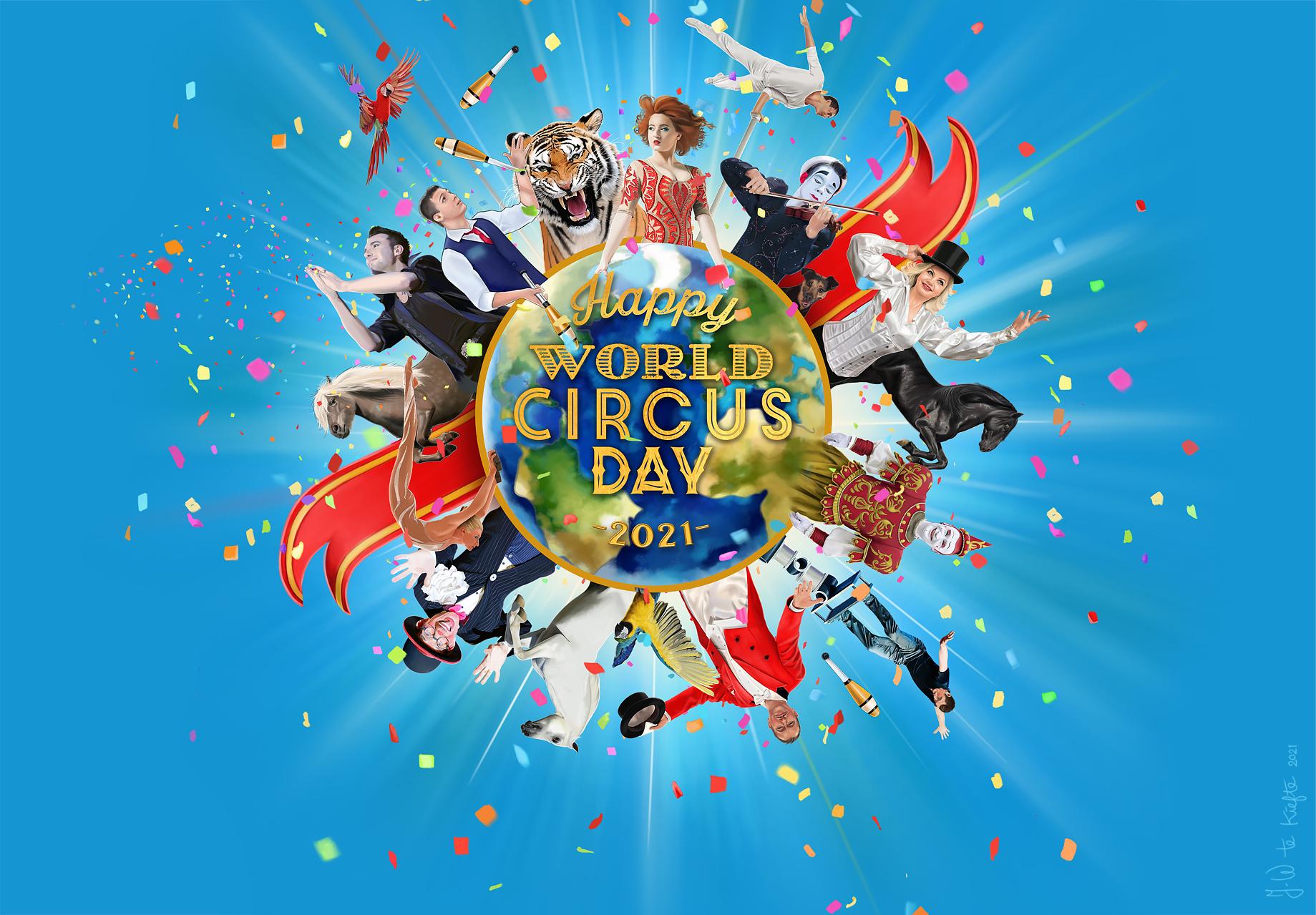 World Circus Day Wereld Circus Dag